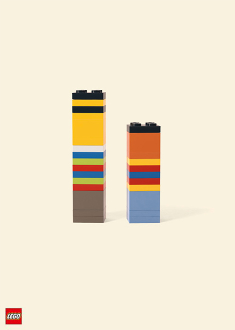 LEGO Ernie & Bert