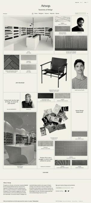 Aesop: Taxonomy of Design