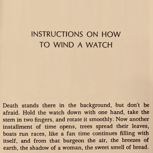 Instructions on How to Wind a Watch