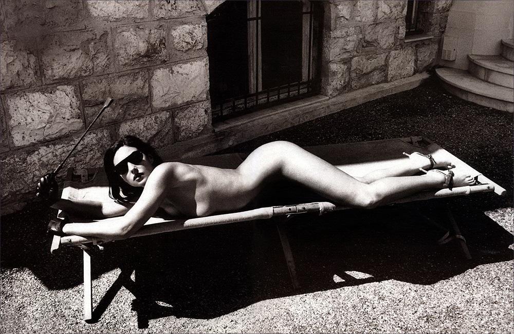 Monica Bellucci x Helmut Newton