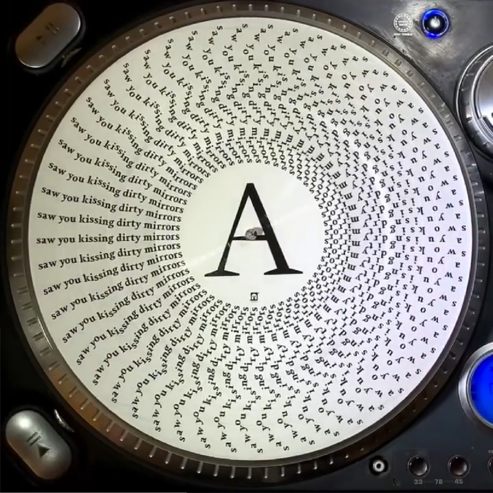 Engrams zoetrope picture disc