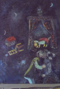 Marc Chagall, Fabulous Scene (from the Gurlitt trove)