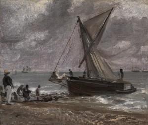 Beaching a Boat, Brighton 1824 John Constable 1776-1837 Presented by Mrs P.M. Rainsford 1986 http://www.tate.org.uk/art/work/T04135