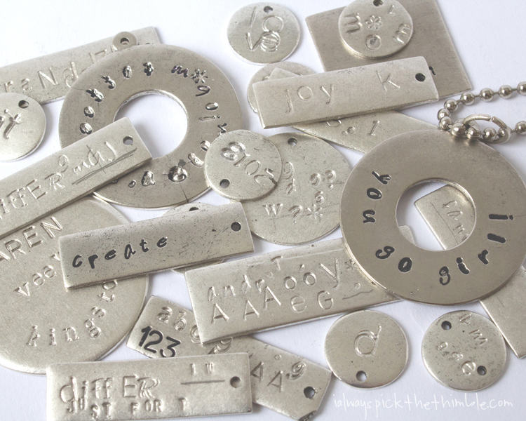 7c2dbcdd0eace Metal Stamping Tips + Tricks - I ALWAYS PICK THE THIMBLE