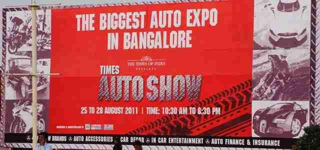 Times Auto Show Bangalore