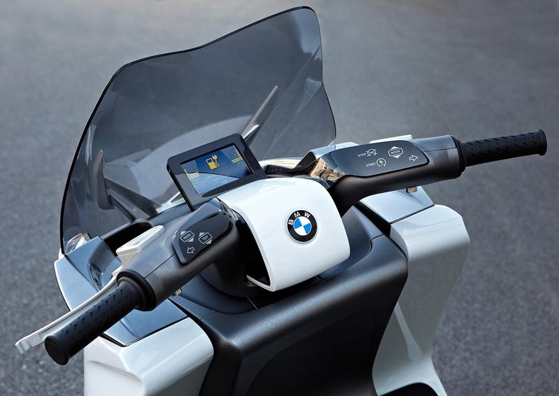 BMW concept e scooter 09