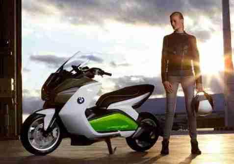 BMW concept e scooter
