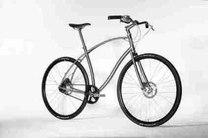 Budnitz Titanium bikes