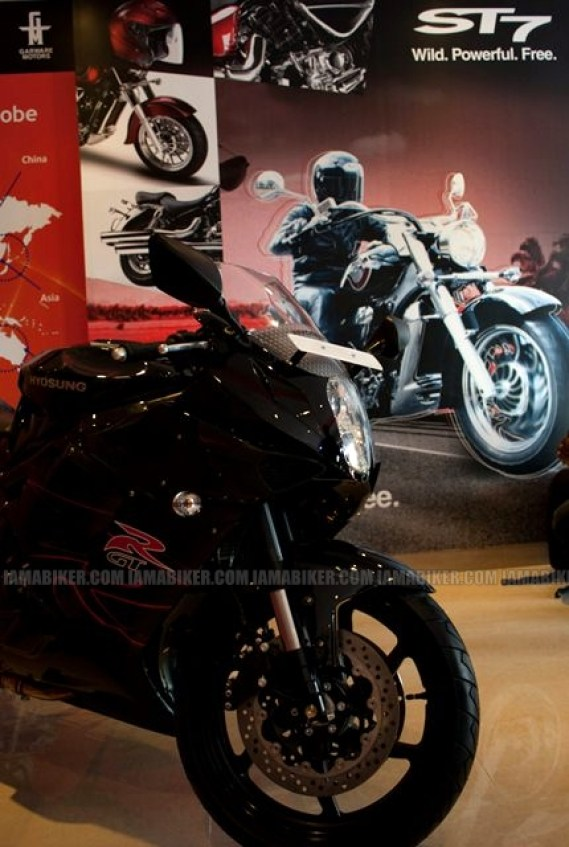 Hyosung Garware Motors Bangalore showroom launch 09