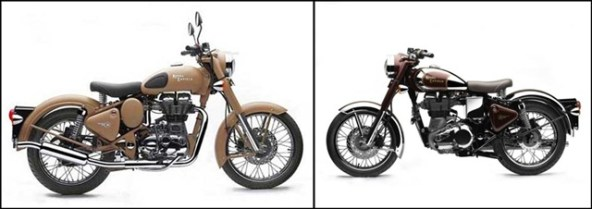 Royal Enfield Classic Chrome 500 and Desert Storm 500 India launch
