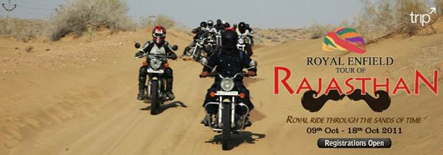 Royal Enfield Rajasthan tour