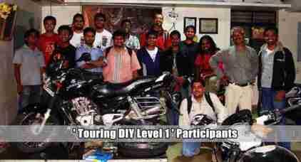 Touring DIY Level 1