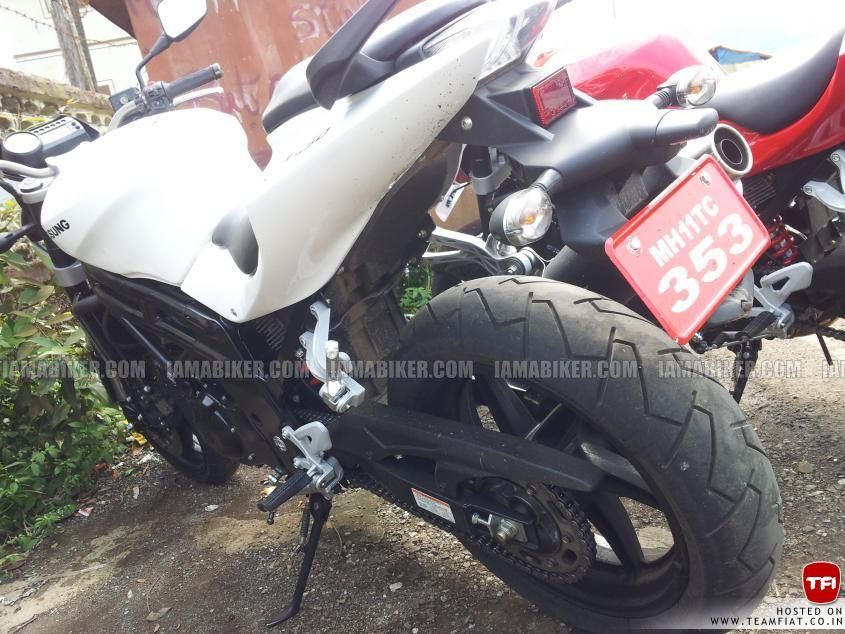 Hyosung GT 650R naked India first look