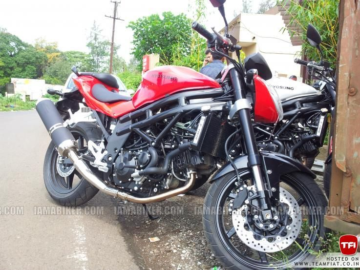 Hyosung GT 650R naked India