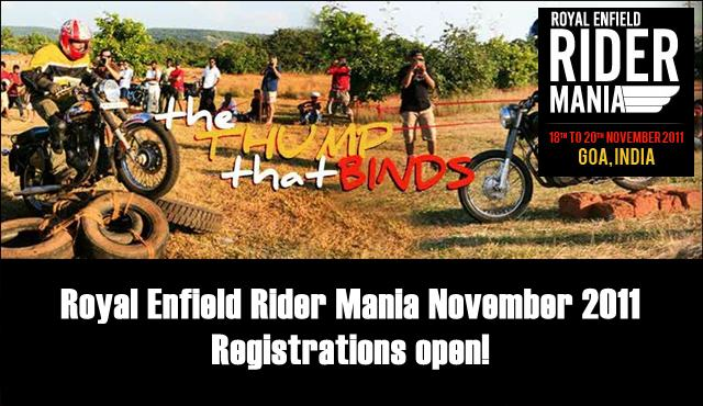 Royal Enfield Rider Mania 2011 November