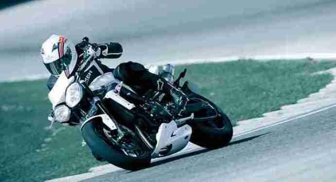 Triuph speed triple 2012