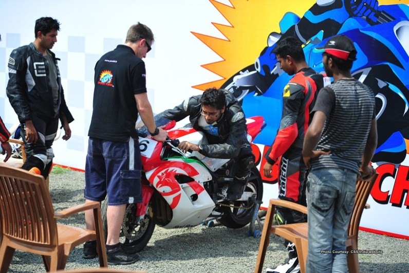 California Superbike School India 2012 dates announced IAMABIKER