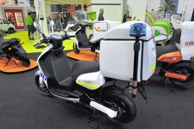 Electrics at EICMA 2011 E-Max