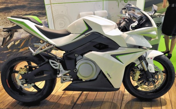 Electrics at EICMA 2011 Energica