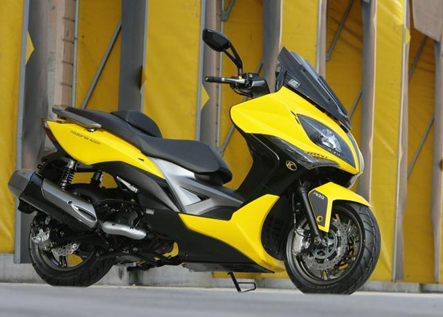KYMCO Xciting 400i For 2012 Displayed At Milan