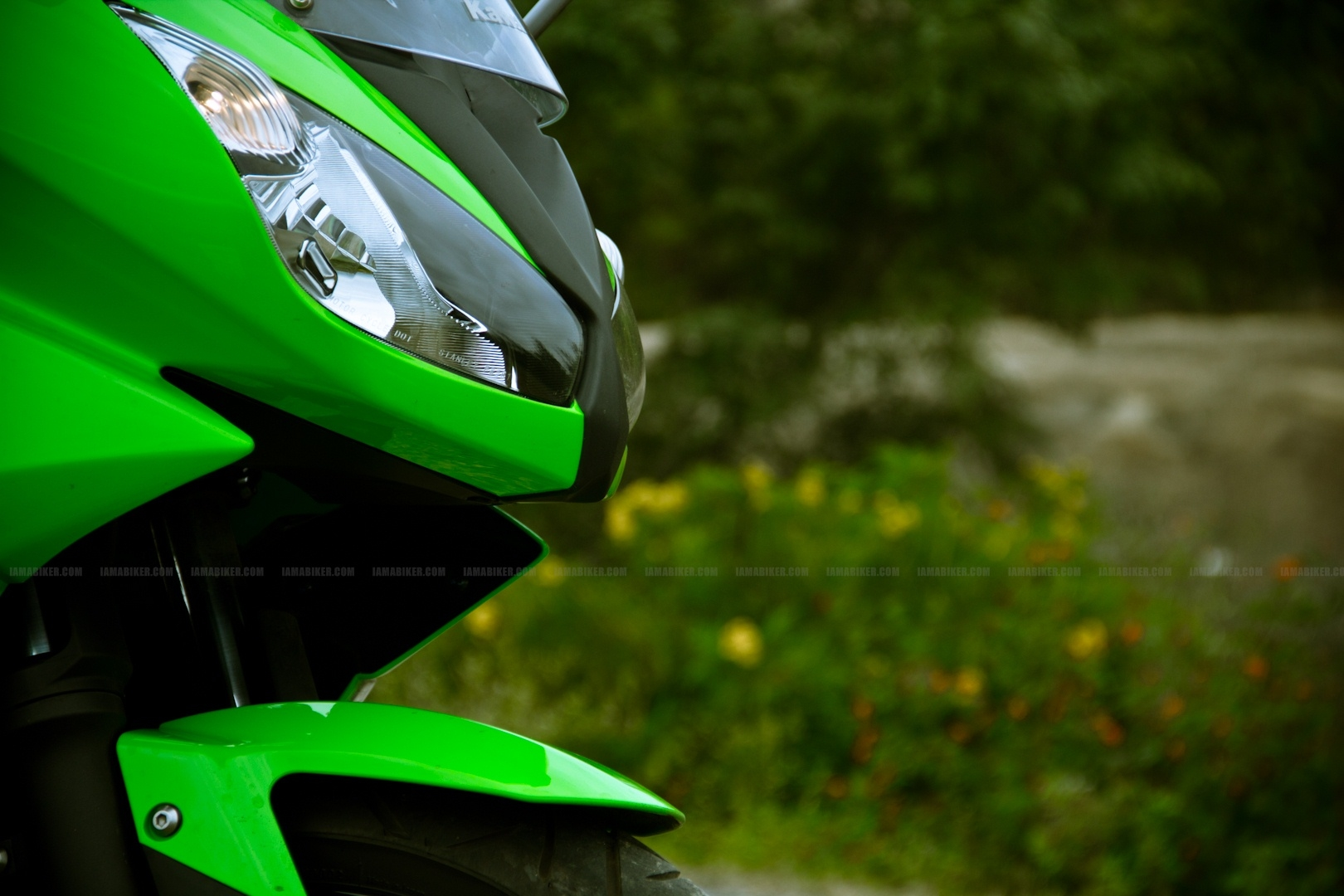 Kawasaki Ninja 650R wallpapers 03 IAMABIKER