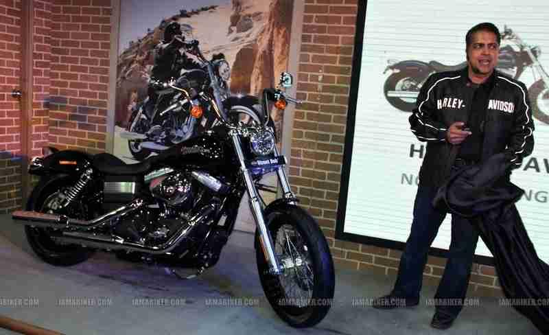 Auto Expo 2012 Harley Davidson