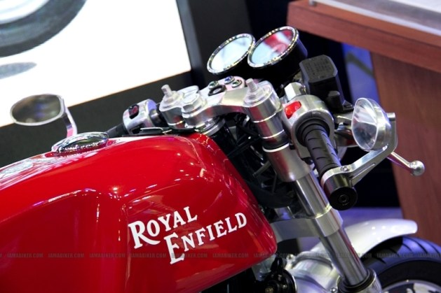Cafe Racer Royal Enfield Auto Expo 2012 India 06