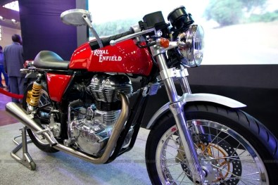 Cafe Racer Royal Enfield Auto Expo 2012 India 09