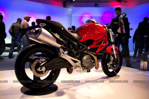 Ducati Auto Expo 2012