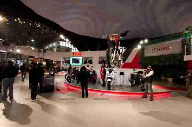 Hero Motocorp Auto Expo 2012 India 21