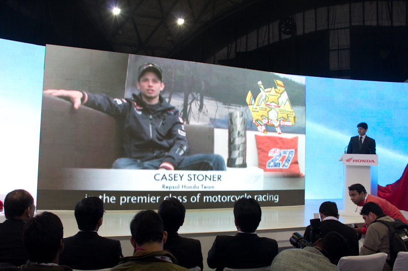 Honda Motorcycles Auto Expo 2012 India -13