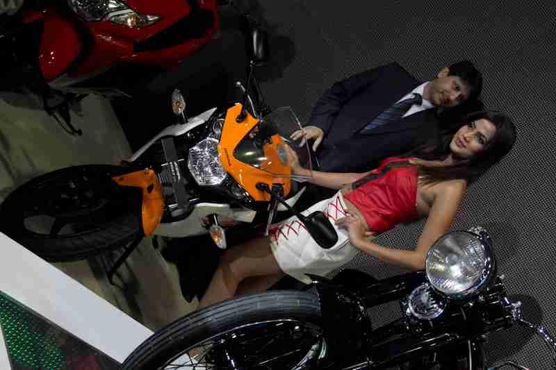 Honda Motorcycles Auto Expo 2012 India -17