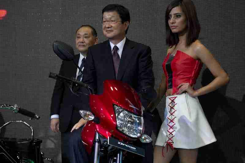 Honda Motorcycles Auto Expo 2012 India -18