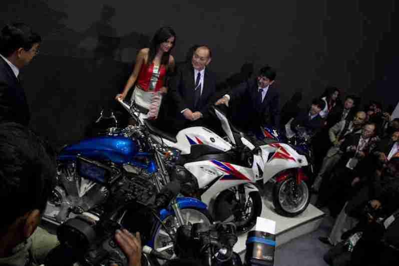 Honda Motorcycles Auto Expo 2012 India -20