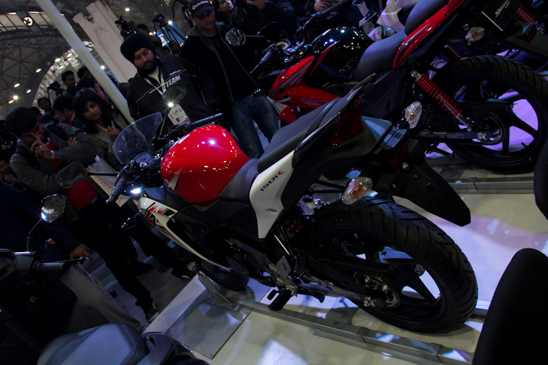 Honda Motorcycles Auto Expo 2012 India -22