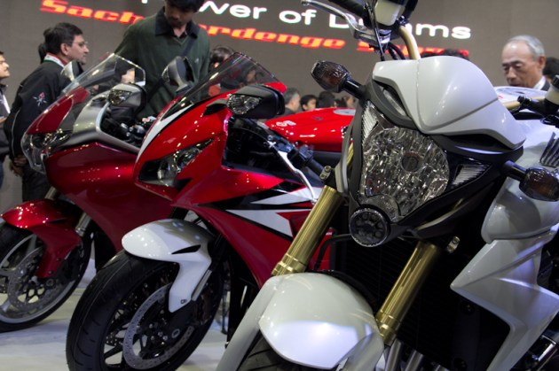 Honda Motorcycles Auto Expo 2012 India -29