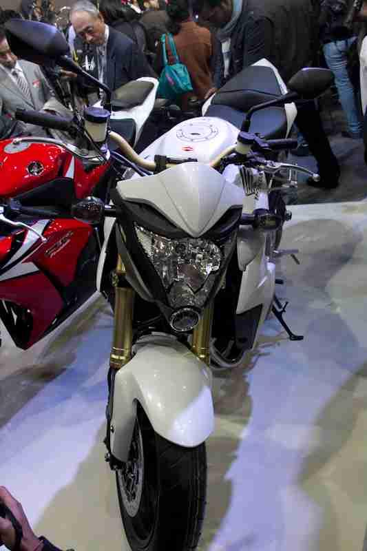 Honda Motorcycles Auto Expo 2012 India -30