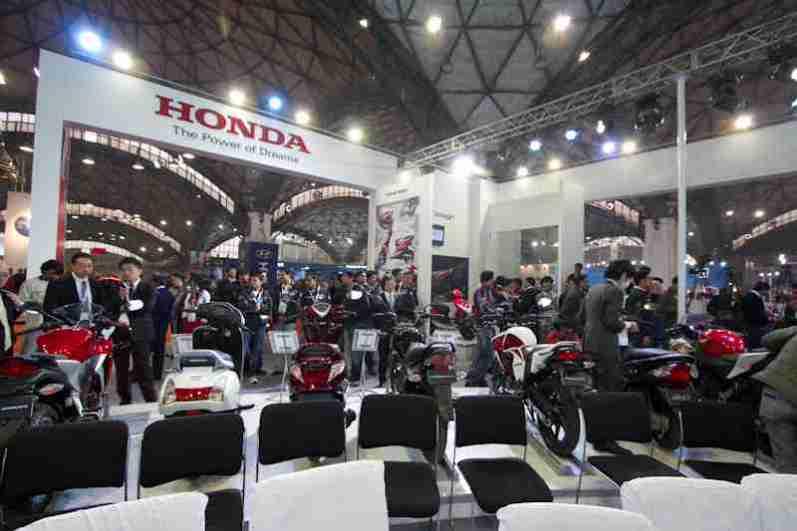 Honda Motorcycles Auto Expo 2012 India -49