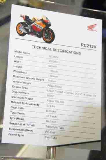 Honda Motorcycles Auto Expo 2012 India -51