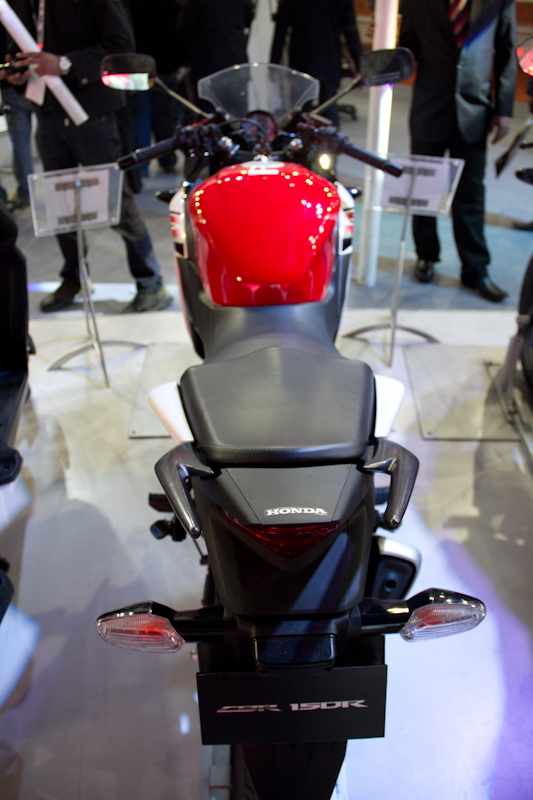Honda Motorcycles Auto Expo 2012 India -59