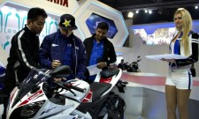 Jorge Lorenzo Auto Expo 2012 India 07