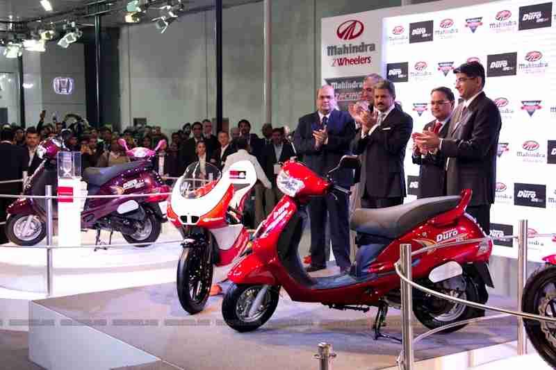Mahindra 2 wheelers Auto Expo 2012 06