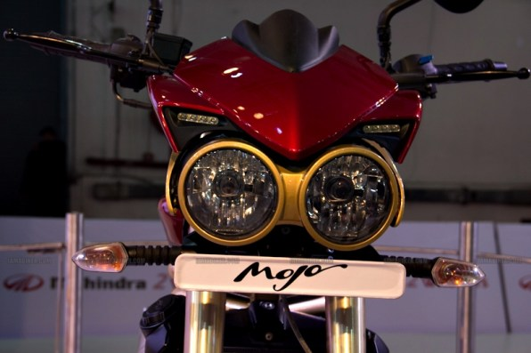 Mahindra 2 wheelers Auto Expo 2012 India 24