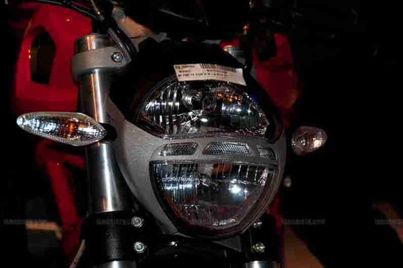 Monster 795 Ducati Auto Expo 2012 India 11