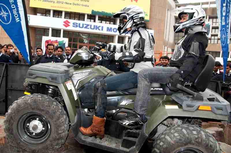Polaris Auto Expo 2012 India 22