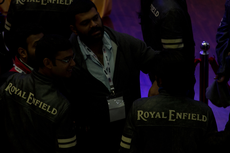 Royal Enfield Riding gears Auto Expo 2012 India -1