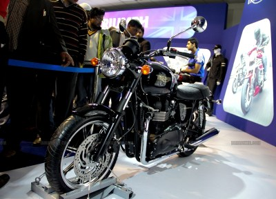 Triumph Motorcycles Auto Expo 2012 India 19