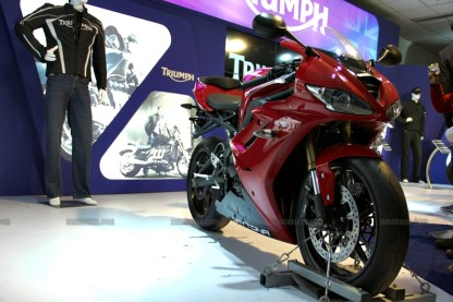 Triumph Motorcycles Auto Expo 2012 India 21