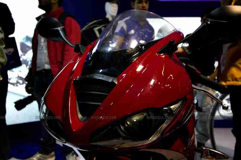 Triumph Motorcycles Auto Expo 2012 India 30