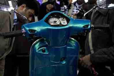 Vespa - Piaggio Auto Expo 2012 India 45